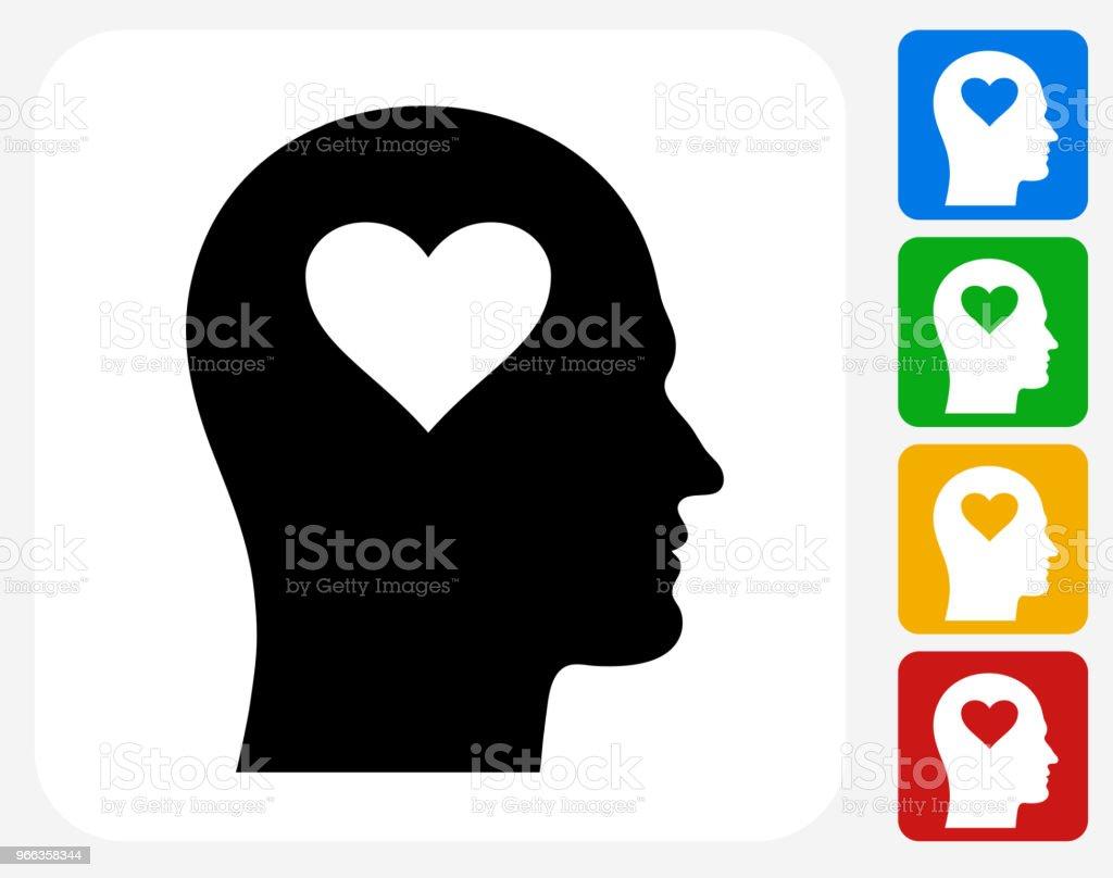 Idée De Photo De Profil profil de visage humain forme amour coeur vecteurs libres de droits et plus  d'images vectorielles de amour