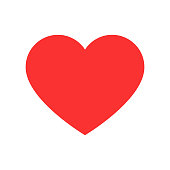 Heart shape vector illustration for love, perfect for valentine's day design