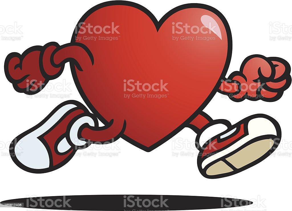 Love Heart royalty-free stock vector art