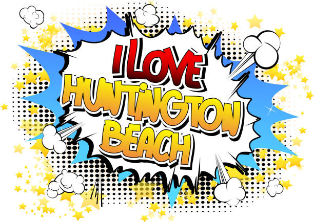 Download Huntington Beach California Illustrations, Royalty-Free ...