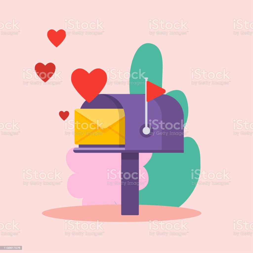 Online Love Letter Template from media.istockphoto.com