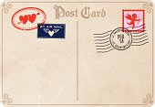 Vintage Love Letters - St. Valentine's Day.