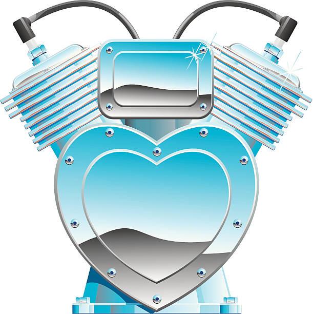Love Machine vector art illustration
