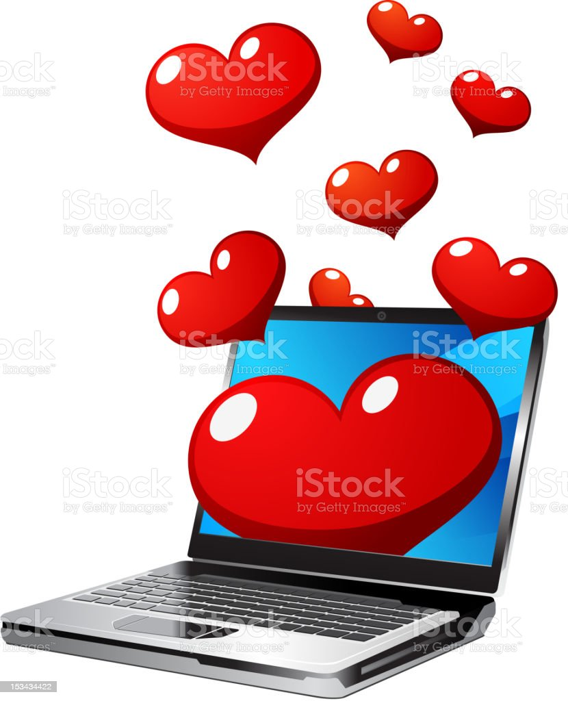love message icon royalty-free stock vector art