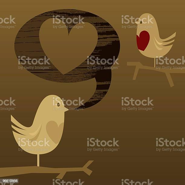 Любовь Сообщение — стоковая векторная графика и другие изображения на тему Без людей