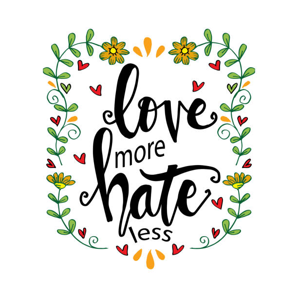 Top 60 Love Hate Quotes Clip Art Vector Graphics And Illustrations