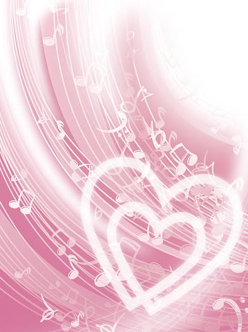 Love Music Background