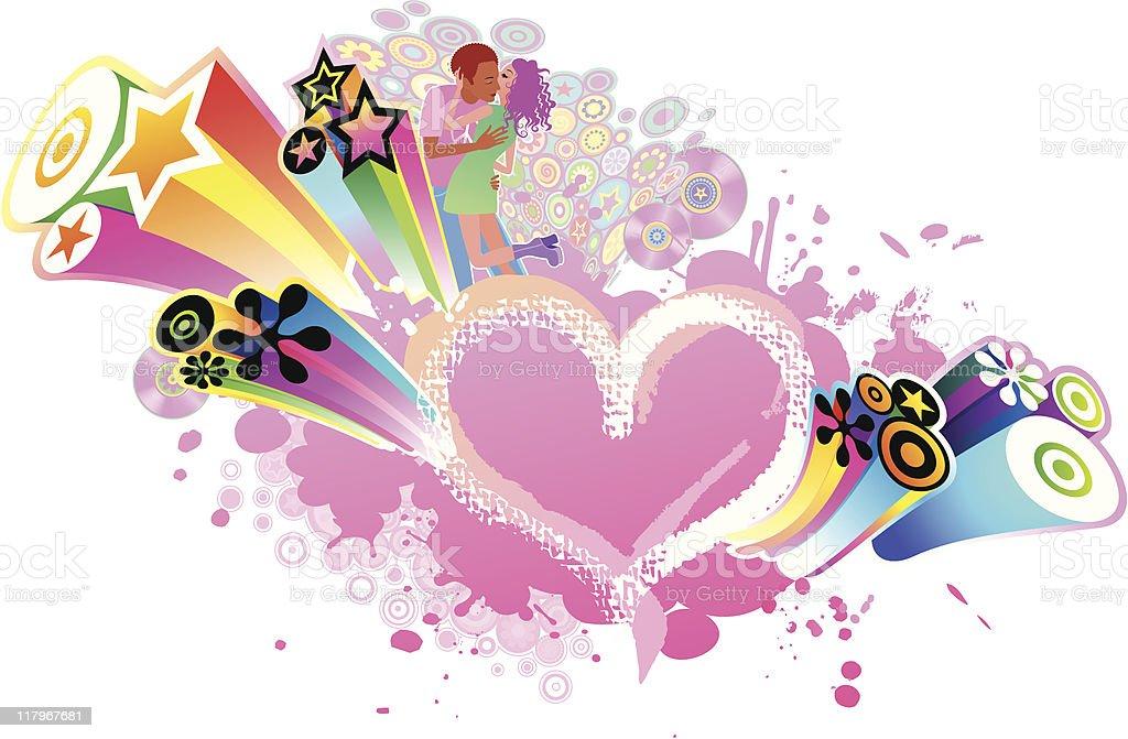 Love Music royalty-free stock vector art