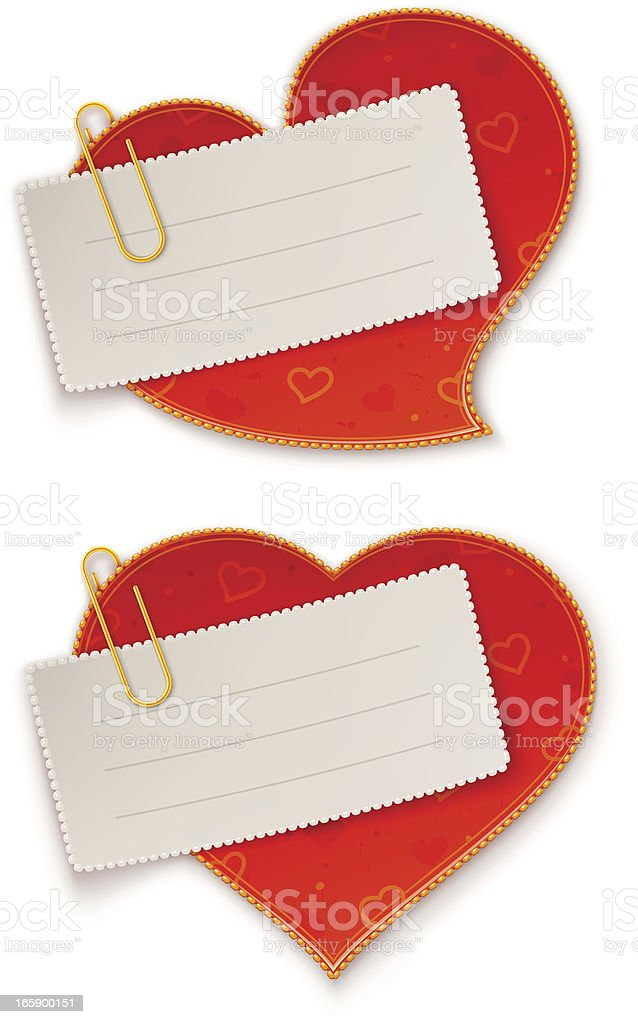 Love notes royalty-free love notes stock vector art & more images of attached