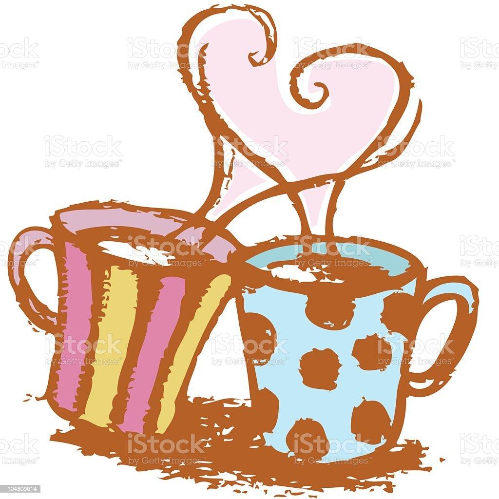 愛ホットコーヒー のイラスト素材 104806614 | iStock