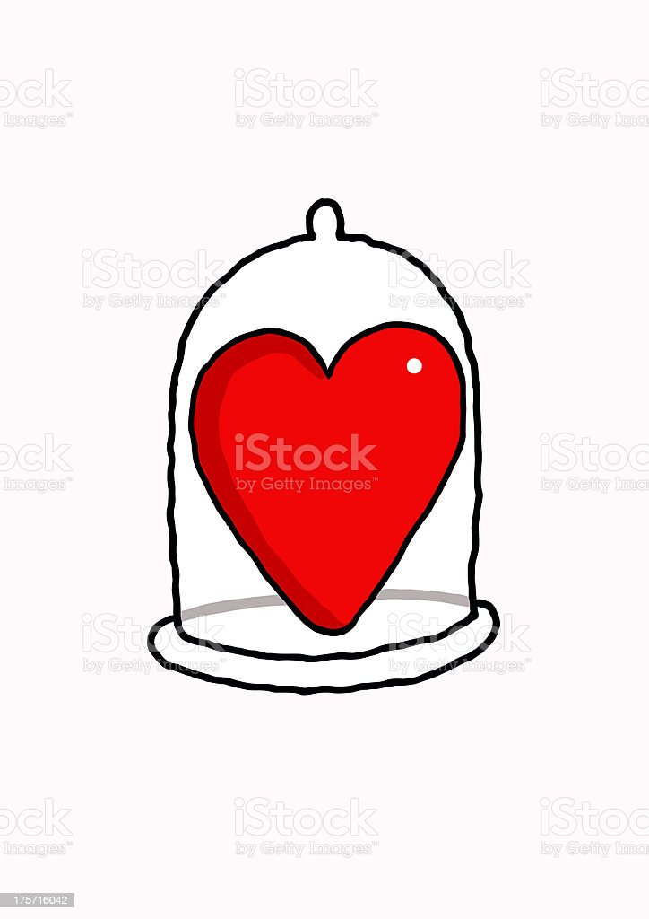 Love security royalty-free stock vector art
