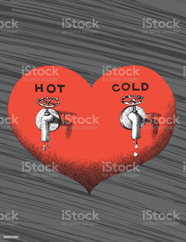 Love sources vector art illustration