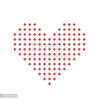 istock Love symbol,Valentine's day,Icon or logo,vector illustration 1222704404