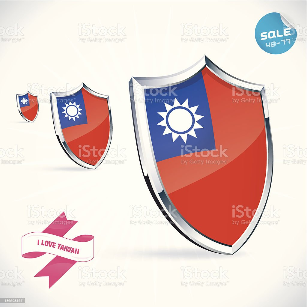 I Love Taiwan Flag Illustration royalty-free i love taiwan flag illustration stock vector art & more images of coat of arms