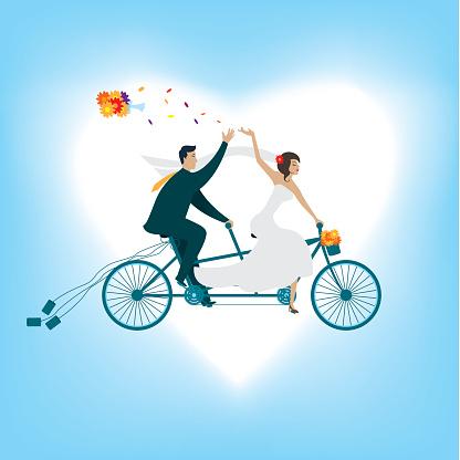 Love the Tandem Bike