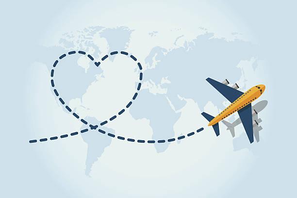 Love Viajar - ilustración de arte vectorial