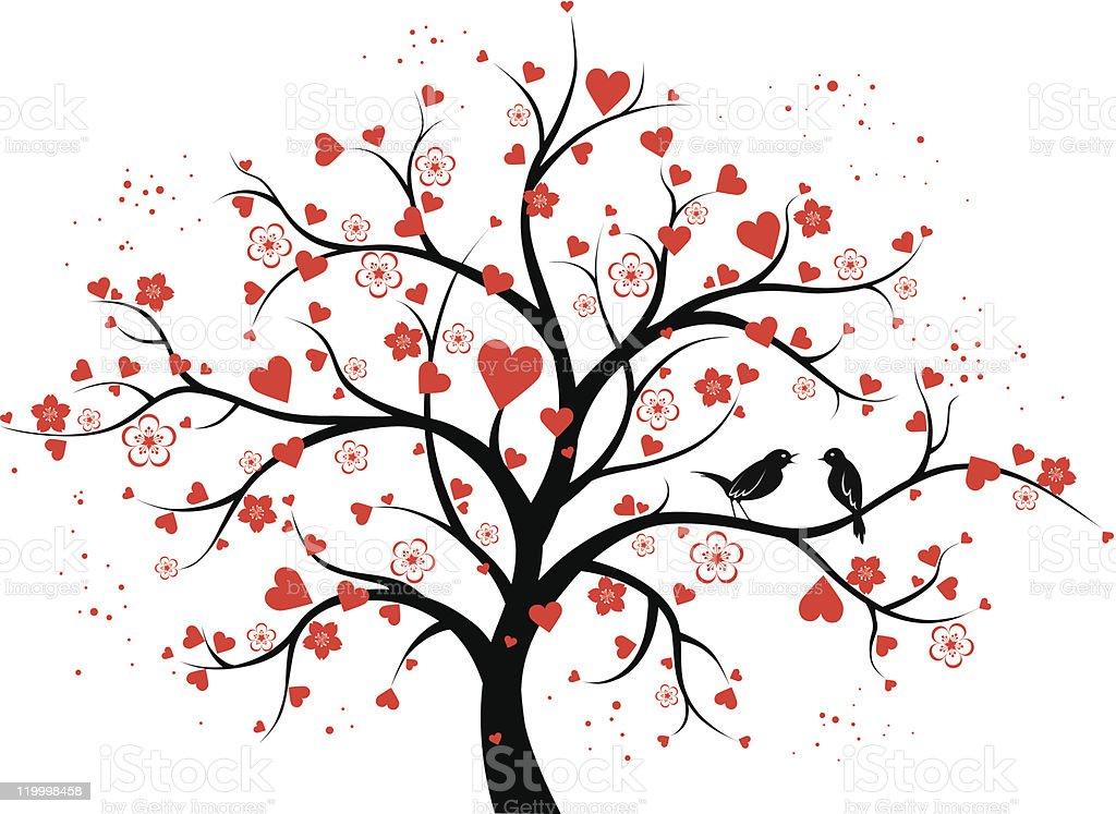 Love Tree Stock Illustration - Download Image Now - iStock
