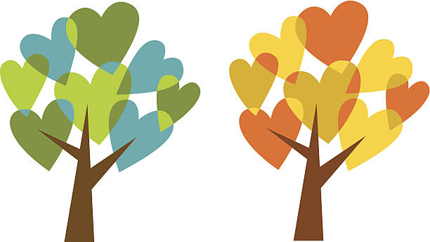 Heart Tree Illustrations, Royalty-Free Vector Graphics ...