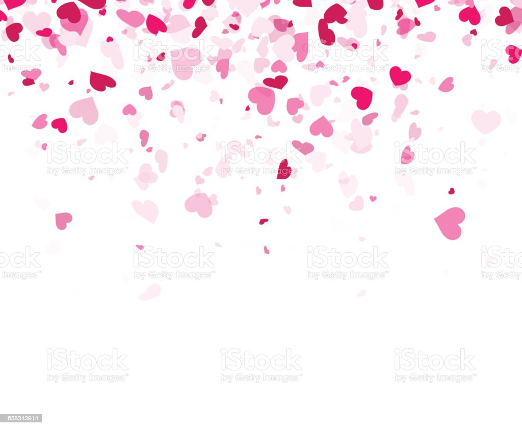 Love Wallpaper Vector : Love Valentines Background With Hearts Stock Vector Art ...