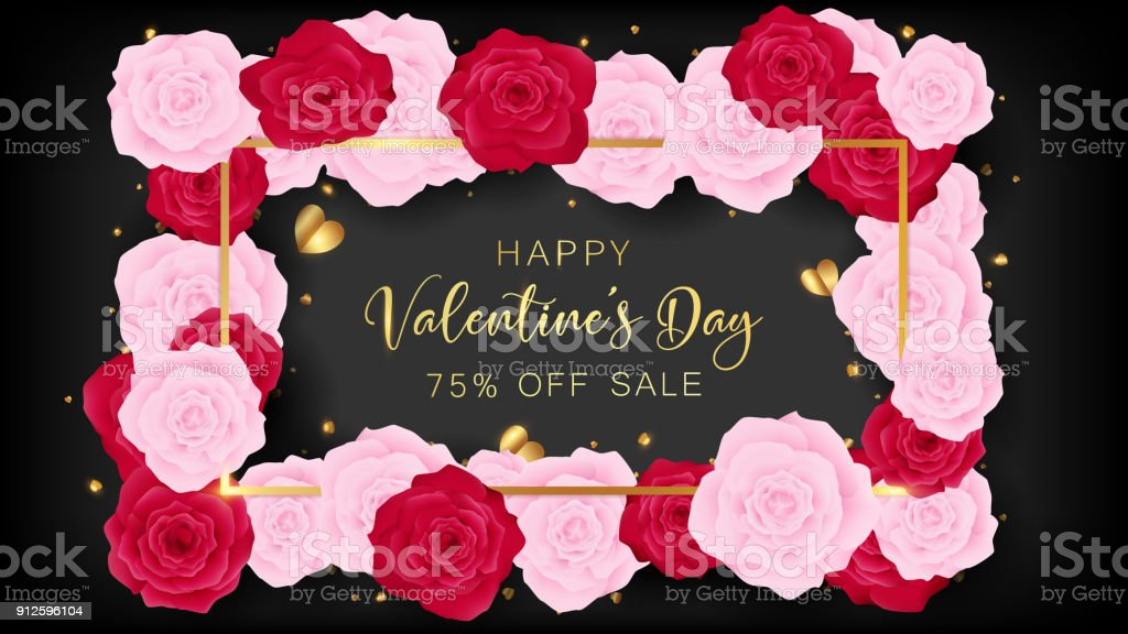 Love valentine's day template