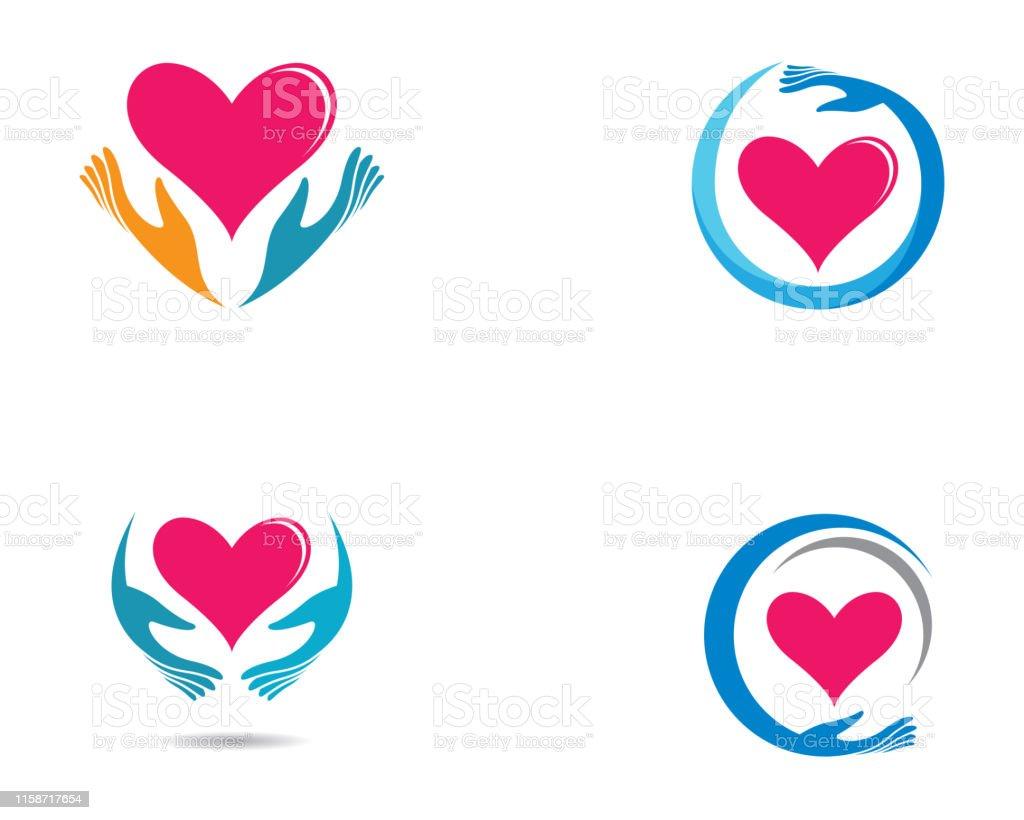 Love Vector Icon Illustration Design Stock Illustration