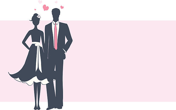 ilustrações, clipart, desenhos animados e ícones de amor - baile de graduação