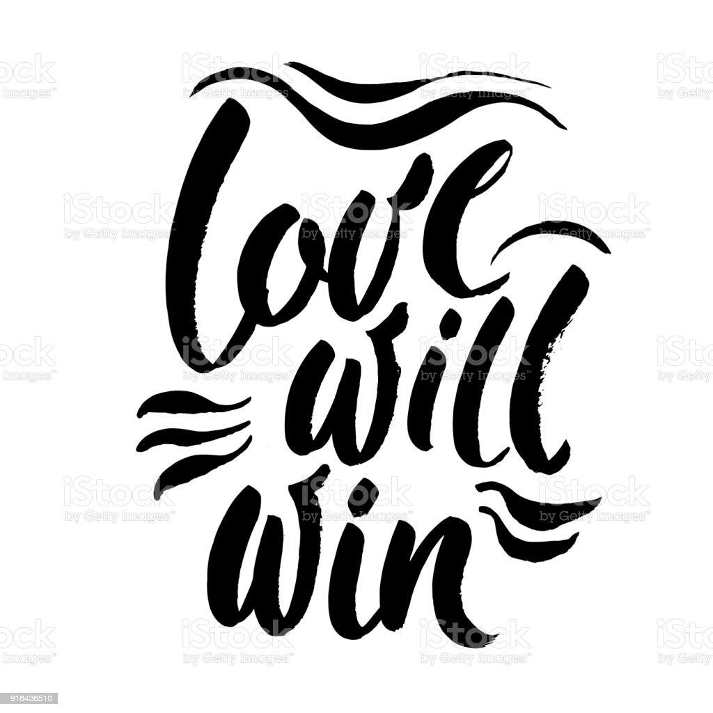 Liebe Wird Zu Gewinnen Inspirierende Zitat über Liebe