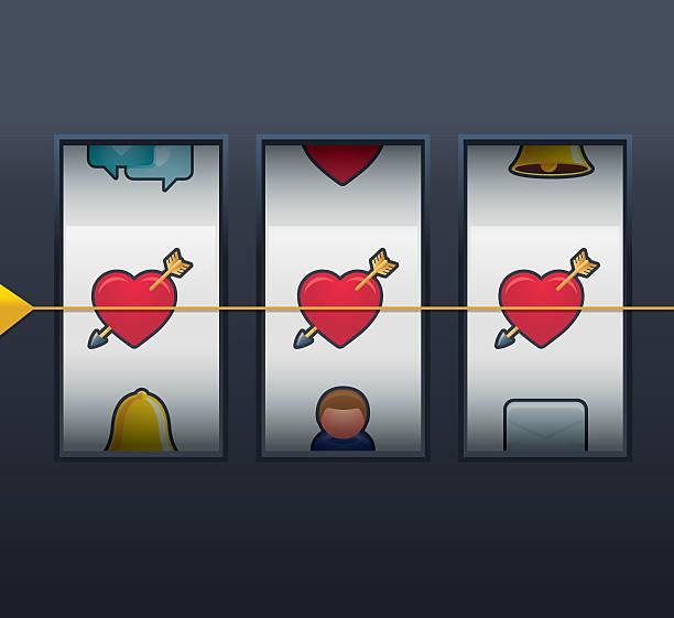Amour gagne ! Illustration - Illustration vectorielle