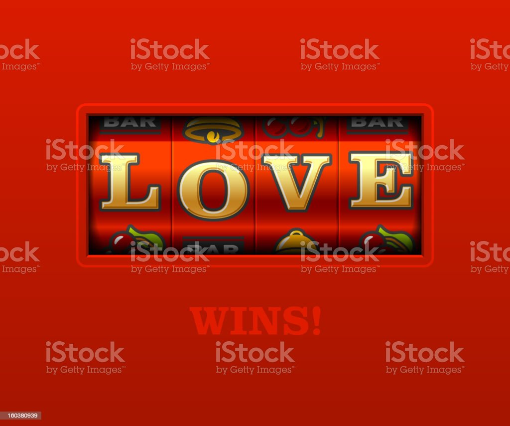 Love gagne ! - Illustration vectorielle