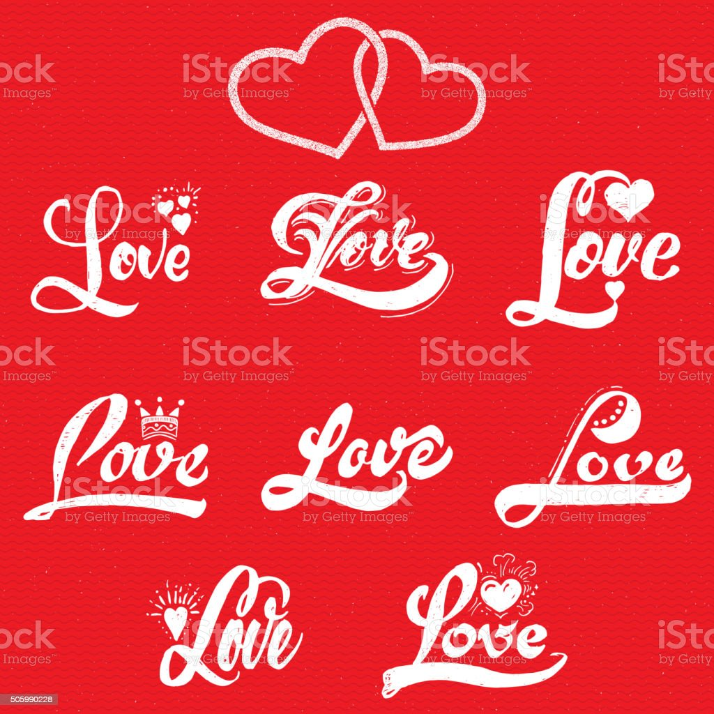 Eu Te Amo E Desenhos De Coração Arte Vetorial De Stock E Mais