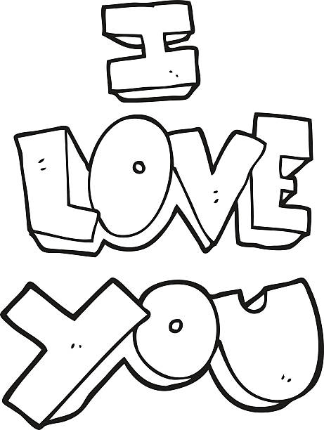 Download Clip Art Of Words I Love You Illustrations, Royalty-Free ...