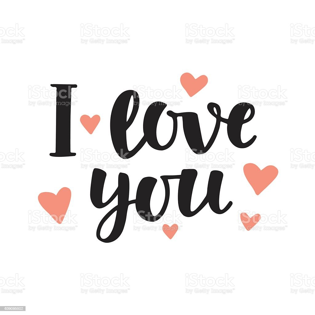 Download I Love You Concept Stock Illustration - Download Image Now ...