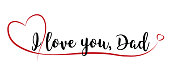 istock I love you, Dad 1320299224