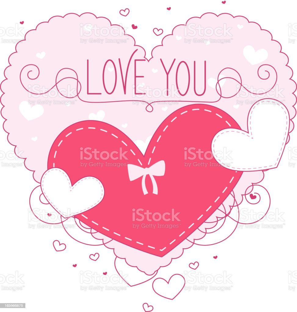 I love you heart royalty-free i love you heart stock vector art & more images of affectionate