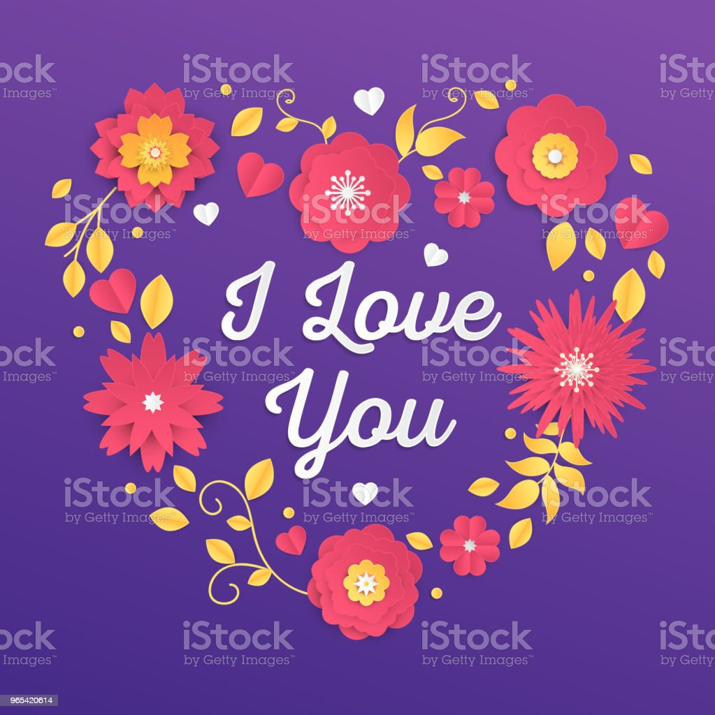 I love you - modern vector colorful illustration i love you modern vector colorful illustration - stockowe grafiki wektorowe i więcej obrazów biały royalty-free
