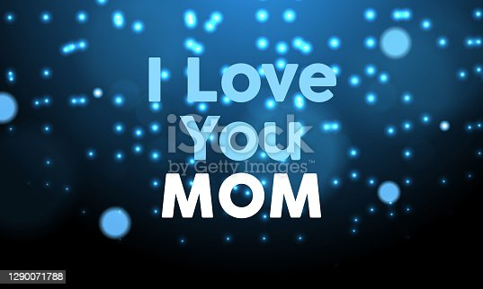 istock I Love You Mom Banner Design 1290071788