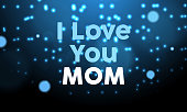 istock I Love You Mom Banner Design 1290071788