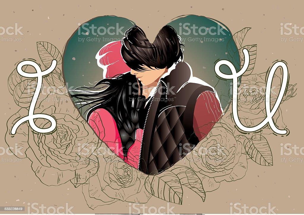 I Love Youfrase Em Inglês Cartão De Dia Dos Namorados Arte