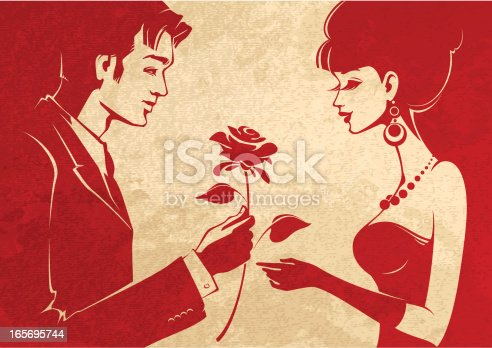 I Love You Stock Vector Art & More Images of Adult 165695744