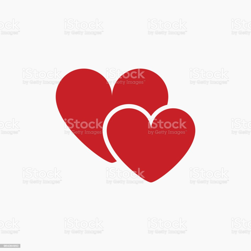Love You Vector Template Design - Royalty-free Abstract stock vector