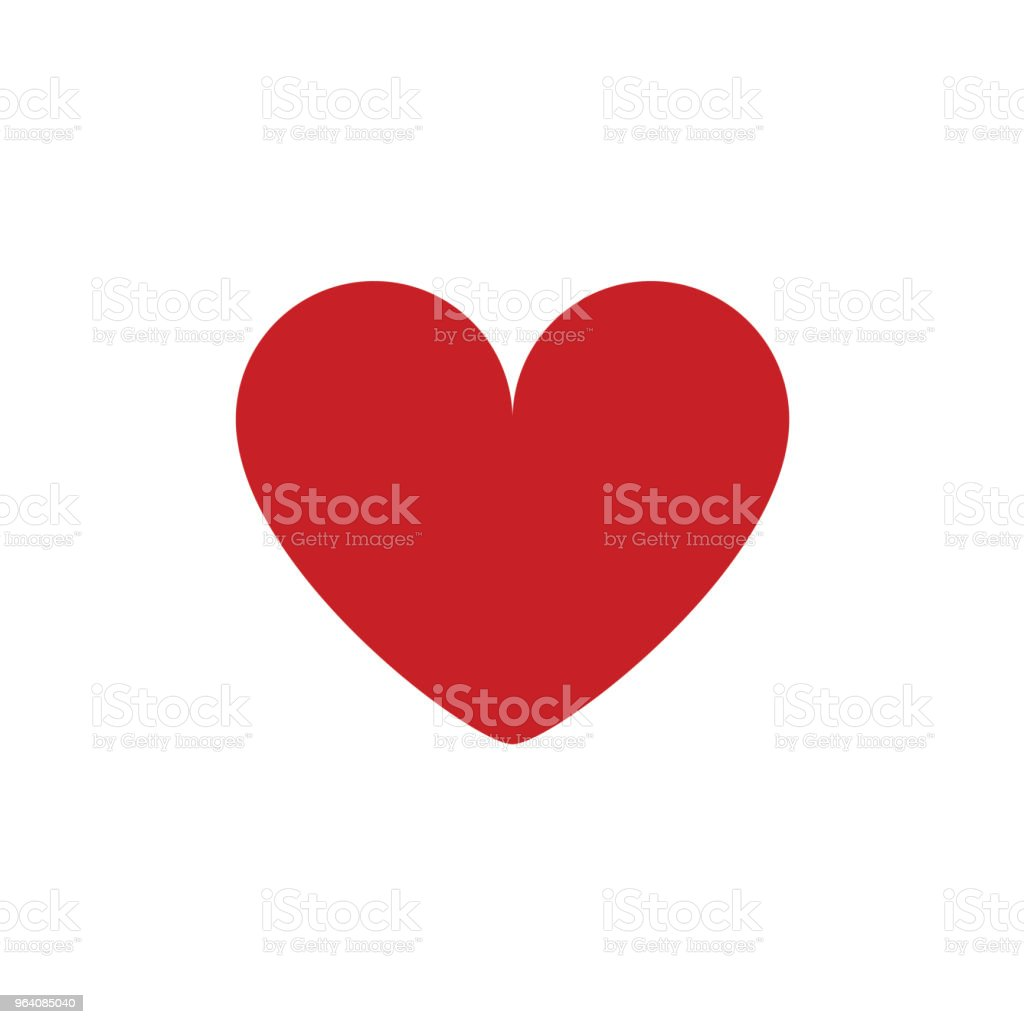 Love You Vector Template Design - Royalty-free Abstract stock vector