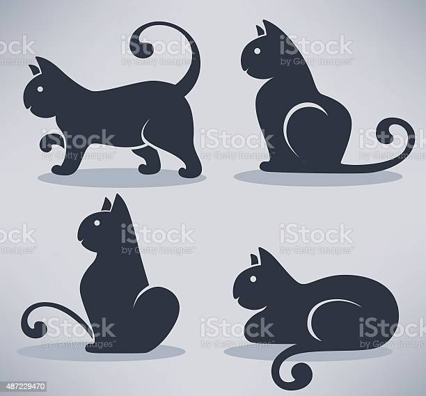 Lovely black cats my favorite pets vector collection vector id487229470?b=1&k=6&m=487229470&s=612x612&h=zi68uwoozyis2pn0zlijkrxsaumrddcuxd nof8jave=