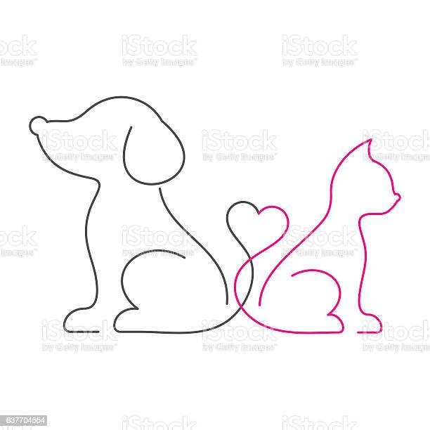 Lovely cat and dog thin line icons vector id637704554?b=1&k=6&m=637704554&s=612x612&h=oe9e4nkyyq755hucnlpaximmt4impknflvyhs8hnhe8=