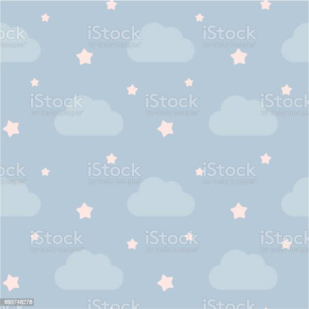 Lovely cute sky with clouds and pink little stars seamless vector vector id693748278?b=1&k=6&m=693748278&s=612x612&h=fcrslkbvga8ifmajgxh7msrl24vddlt5yimnorhklue=
