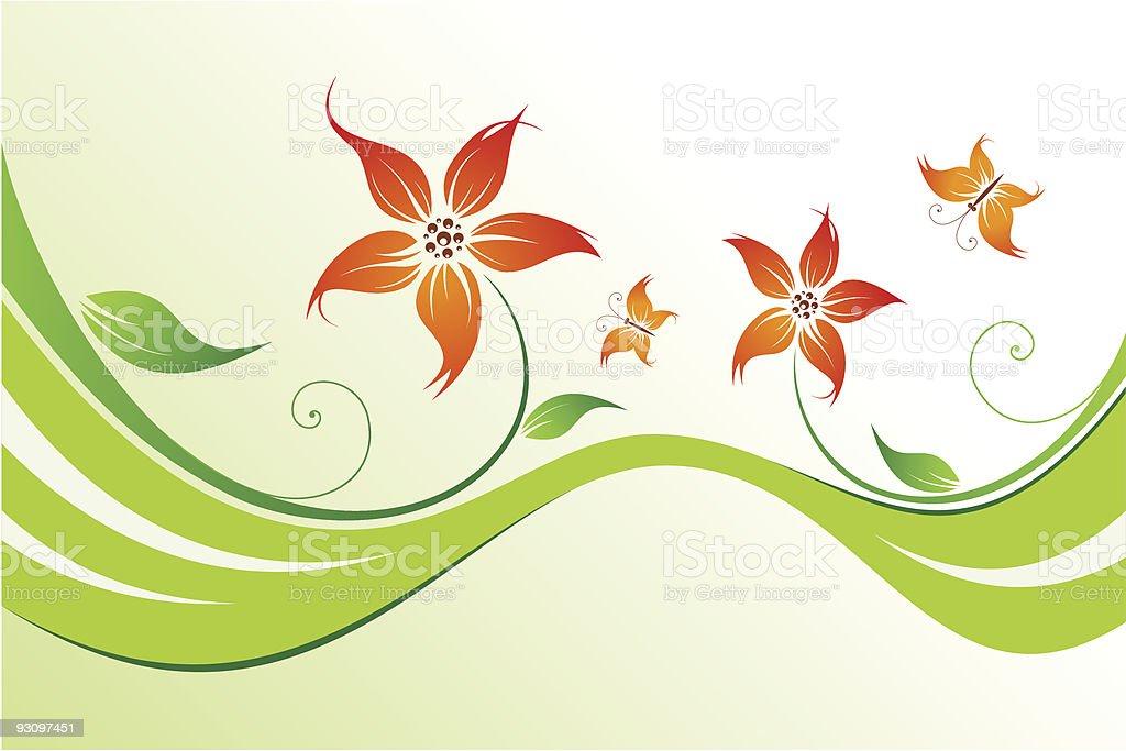 Lovely flower royalty-free lovely flower stock vector art & more images of abstract