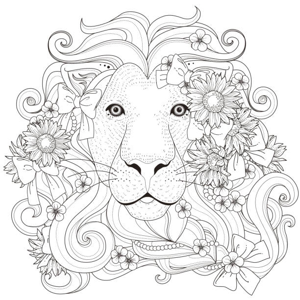 totem pole faces coloring pages luau - Totem Pole Animals Coloring Pages