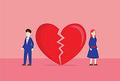 istock Lover a broken heart 1202062657