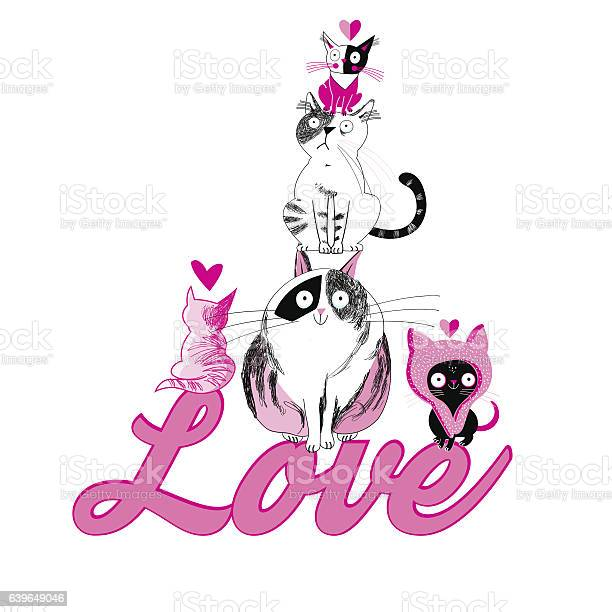 Lovers funny graphics cats vector id639649046?b=1&k=6&m=639649046&s=612x612&h=q2oaxipdav4azwq8agbb7qqwfidbo6n8yitak1c4nim=