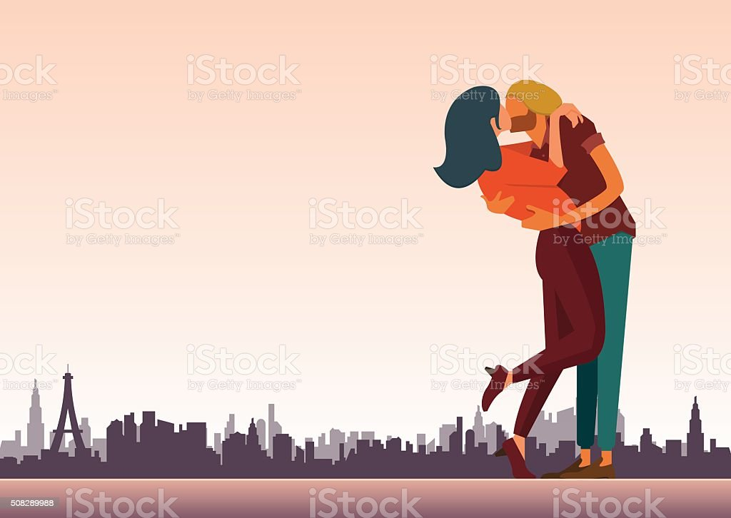 Loving couple are kissing for valentine day and wedding decoration loving couple are kissing for valentine day and wedding decoration royalty free loving couple junglespirit Image collections