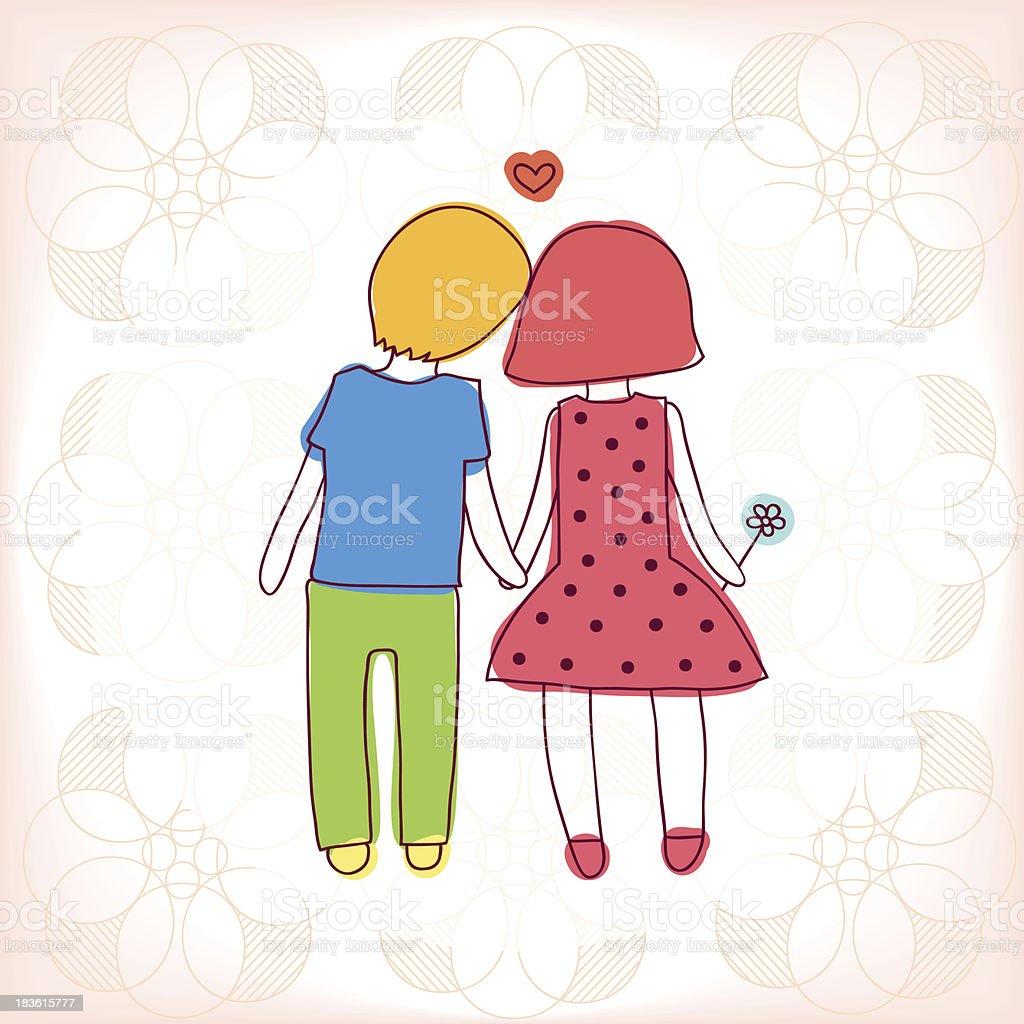 愛するカップル のイラスト素材 183615777 | istock